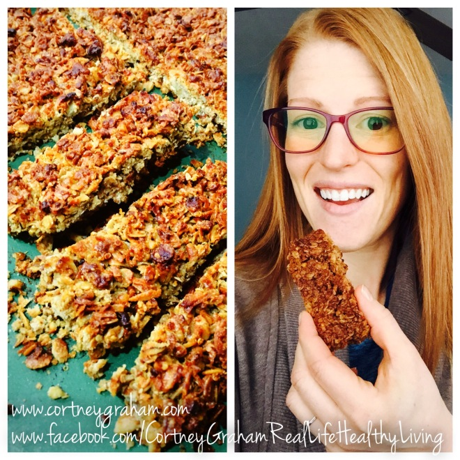 Chewy Quinoa Granola Bars! GLUTEN FREE, DAIRY FREE, 21 Day Fix Approved
