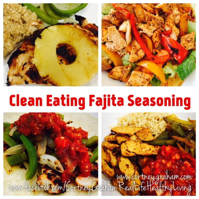 SUPER SIMPLE Clean Eating Fajitas w/Seasoning, 4 Ways!