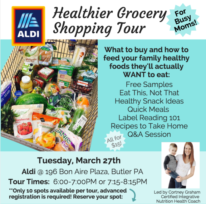 Aldi Grocery Shopping Tour